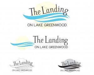 The Landing on Lake Greenwood logos
