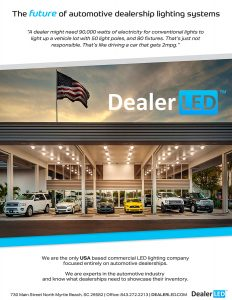 Ellev Advertising Agency Graphic Design Booklet Dealer LED Page 1