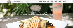Ellev Advertising Agency Website Design Logo Branding Photography Chive Blossom Cafe Restaurant