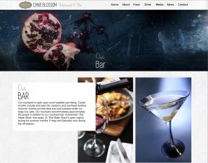 Ellev Advertising Agency Website Design Logo Branding Photography Chive Blossom Cafe Restaurant Bar 3